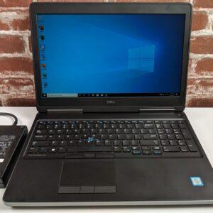 Dell 7510 - otevřený