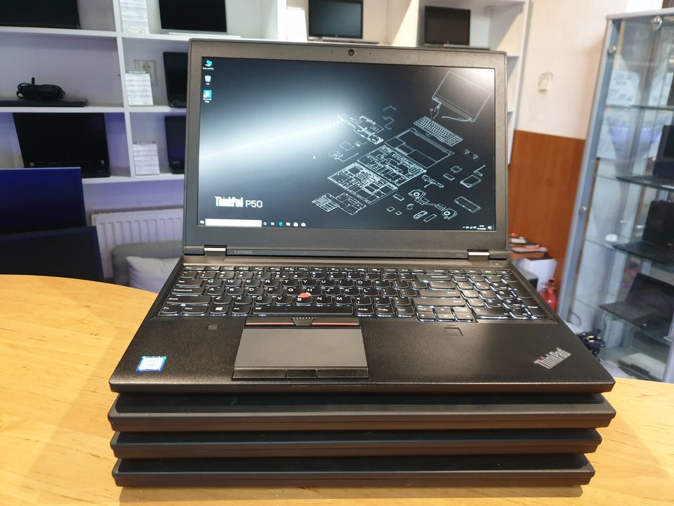 Lenovo P50 grafický notebook